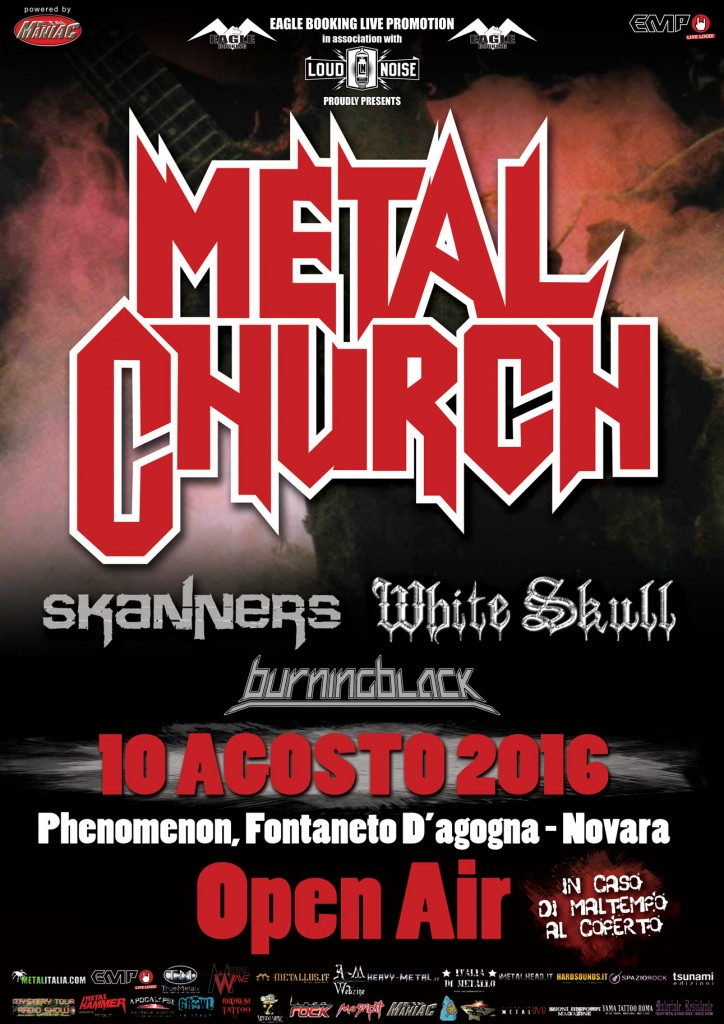 Metal church novara new promo web 2016
