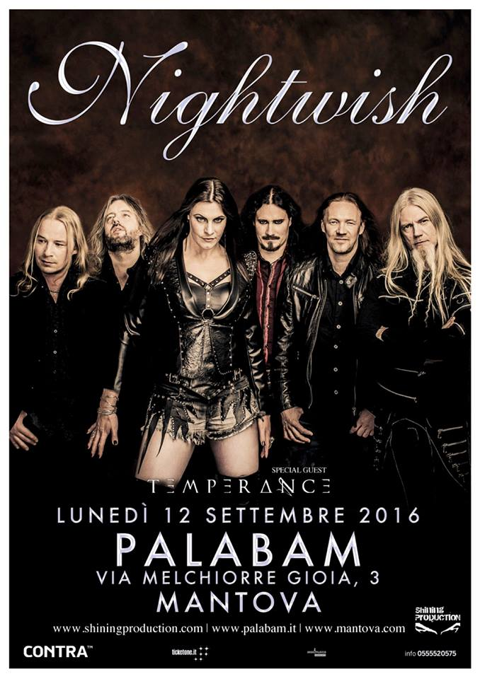 nightwish 2016