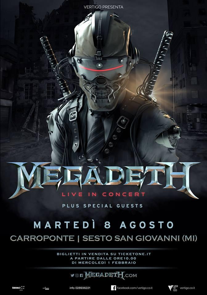 Megadeth 2017