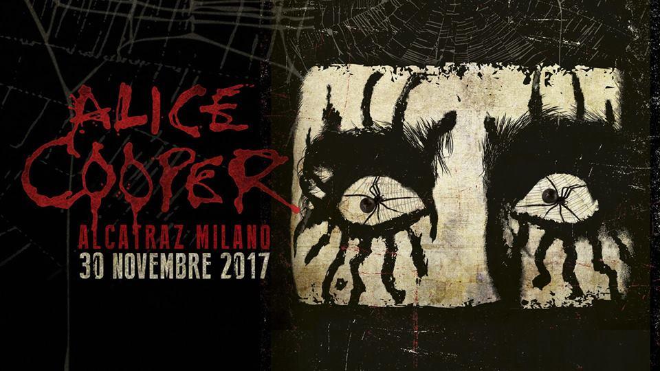 Alice Cooper italia 2017