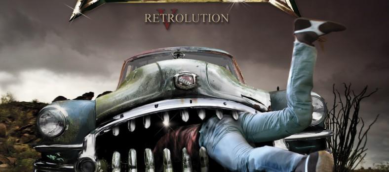 Axxis - Retrolution - Artwork