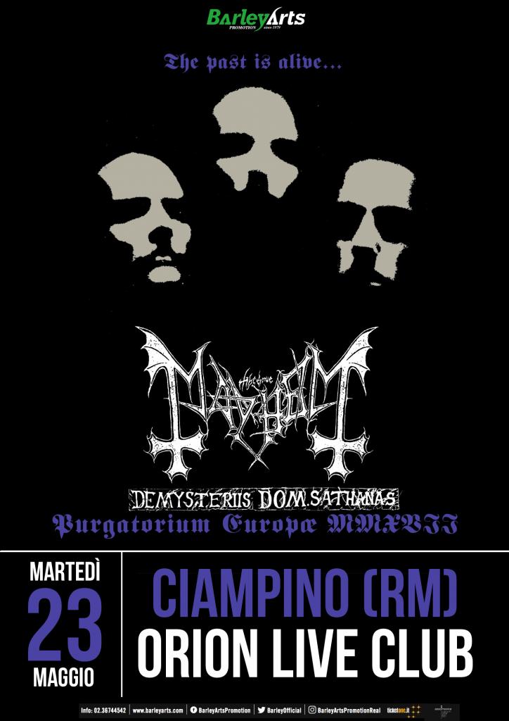 mayhem roma 2017