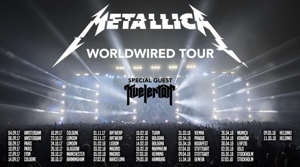 metallica tour 2018