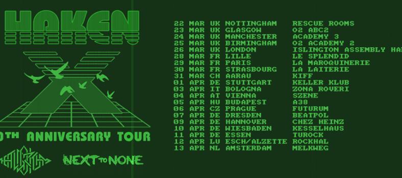 haken tour 2017
