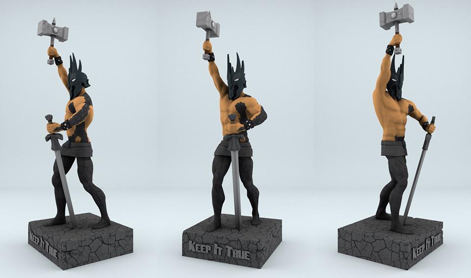 kit statue