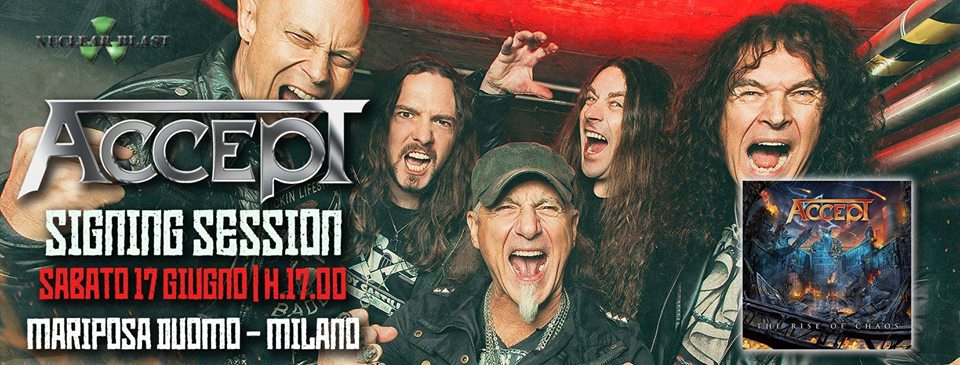 Accept sign 2017