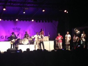 Vintage trouble & lucky chops jam