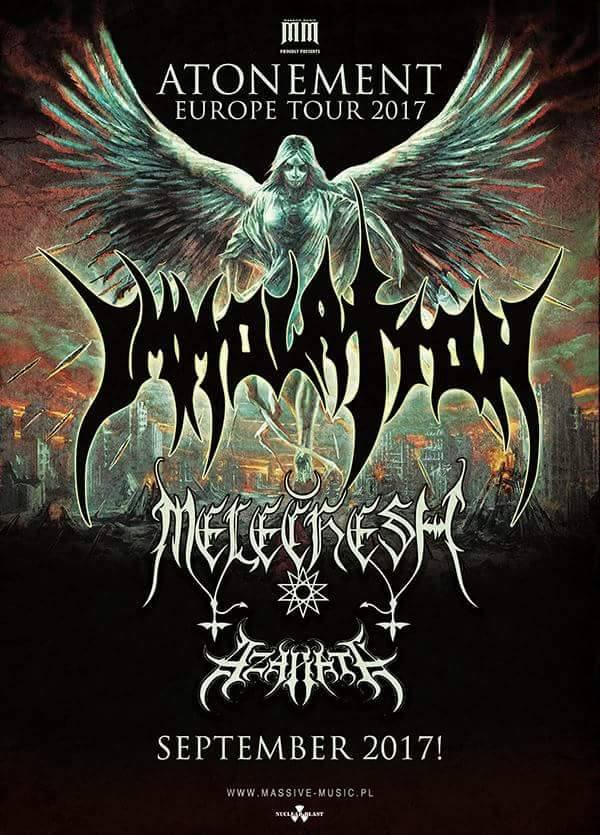 immolation tour 2017