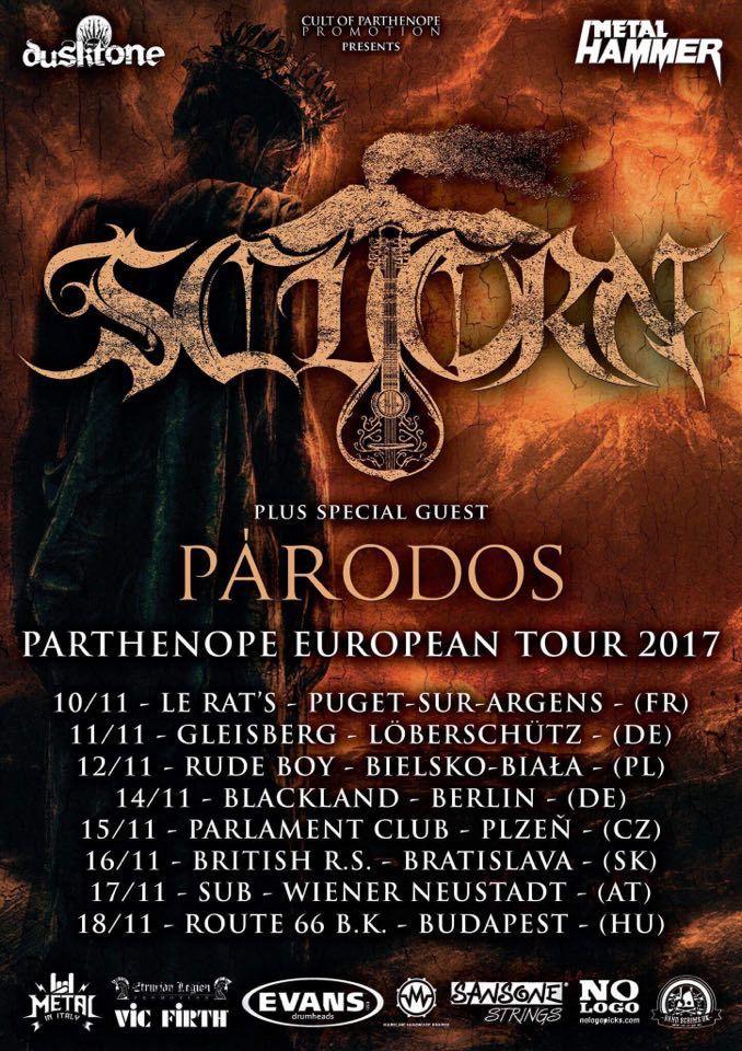 scuorn tour 2017