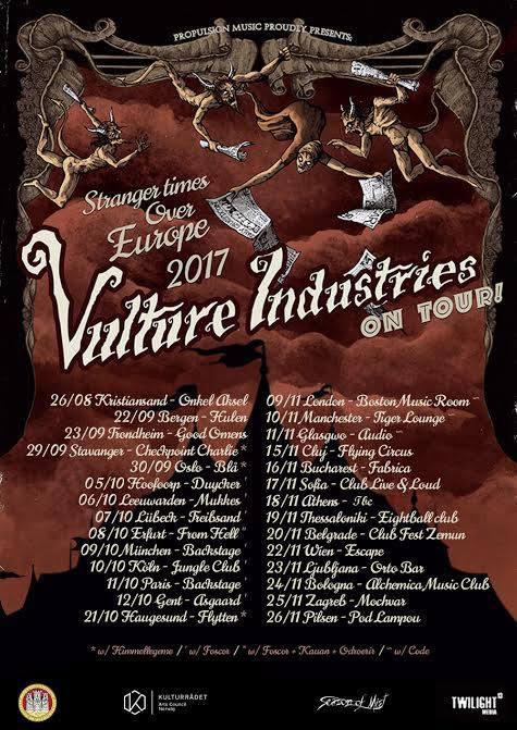 vulture tour2017