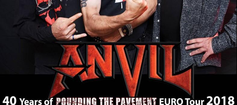 Anvil tour 2018