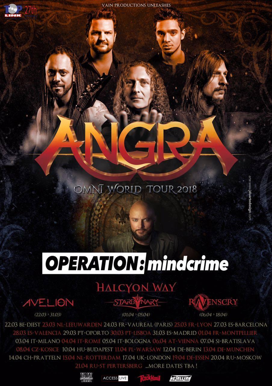 ANGRA + OPERATION: MINDCRIME