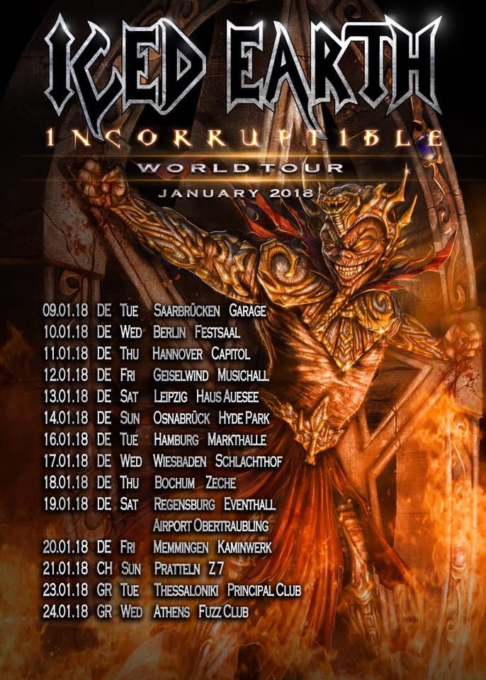 Iced Earth Tour