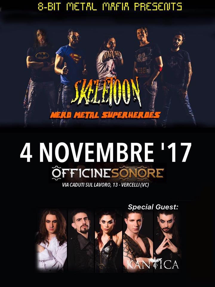 SkeleToon + Kantica