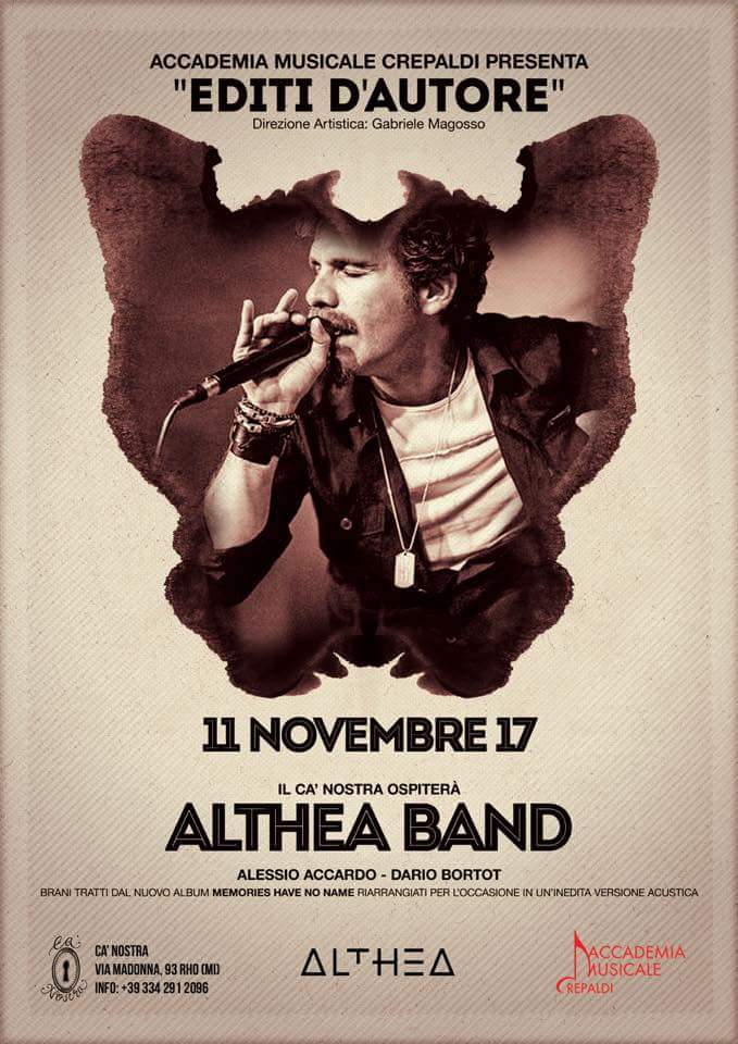 ALTHEA FLYER UFFICIALE