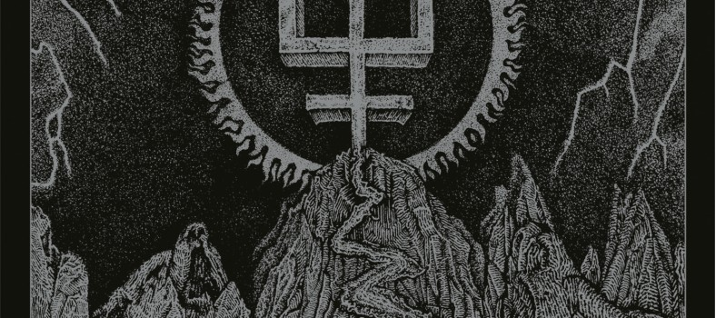 Watain trident wolf eclipse Cover