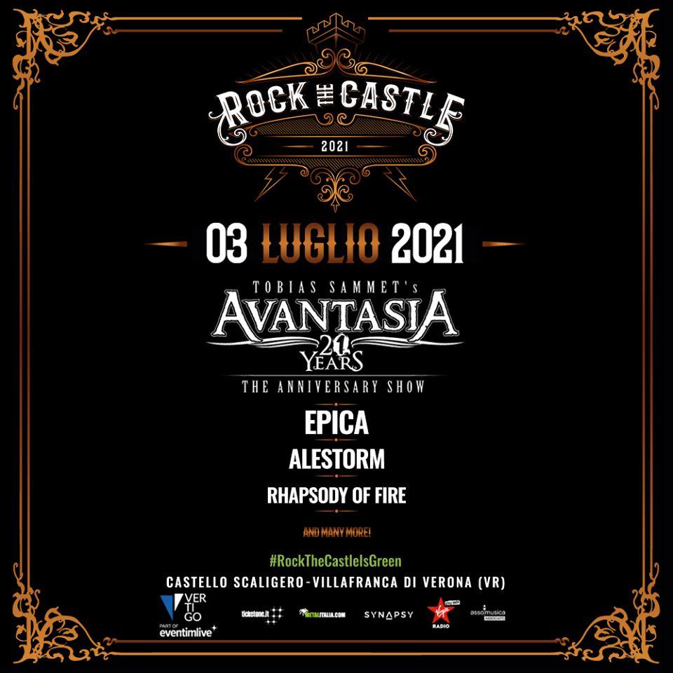 AVANTASIA - Spostata al 2021 la data al Rock The Castle - Loud and ...